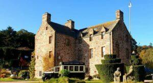 Henry at Scottish castle