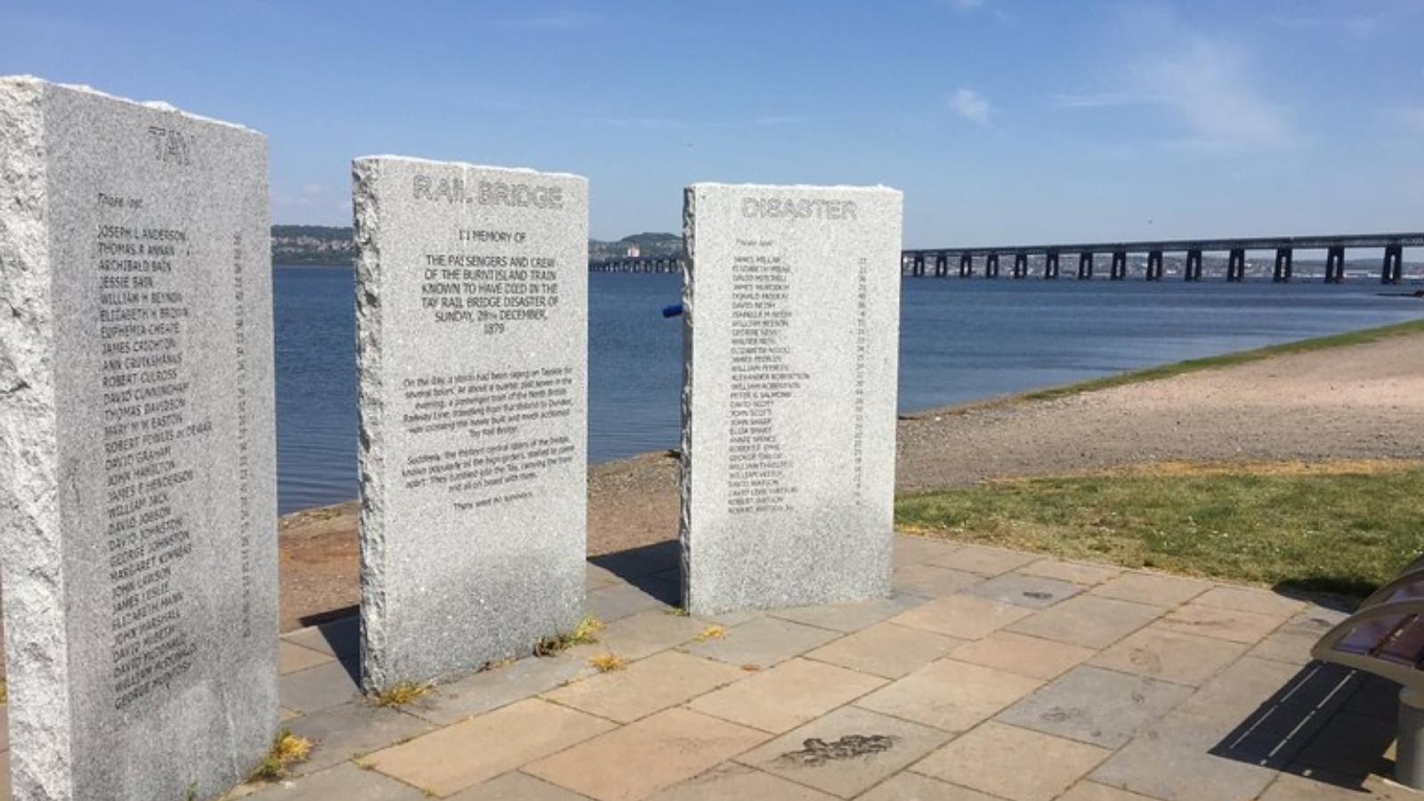 Tay Bridge Memorial<br>